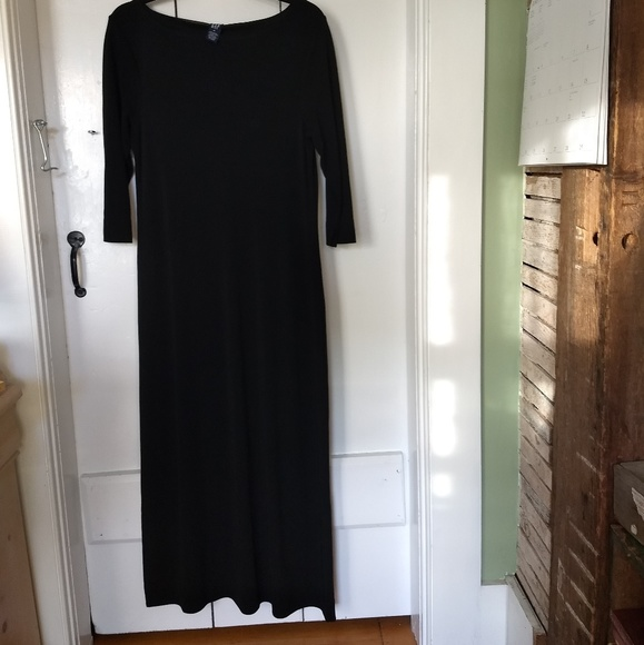 GAP Dresses & Skirts - black maxi dress